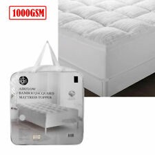 Luxury 1000GSM Bamboo Blend Mattress Topper by Accessorize