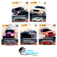 2020 Hot Wheels Car Culture Power Trip T Case Set of 5 Cars【IN-STOCK】
