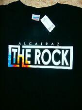 ALCATRAZ THE ROCK HEAVY COTTON QUALITY T-Shirt CLASSIC BNWT Mens L SOUVENIR