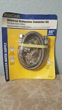 "Brass Craft Universal Dishwasher Connector Kit 48"" B1U-48DW612 D *** NEW***"