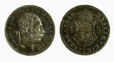 pcc2132_58) Österreich  Ungheria Florint Fiorino 1890 FERENCZ I TONED