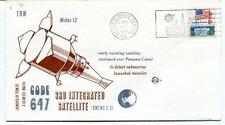 1972 CODE 647 Integrated Satellite Midas12 Panama Canal submarine launch missile