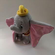 Dumbo Plush 8 inch Stuffed Animal with Circus Collar Yellow Hat Walt Disney Comp