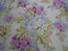 "Designers Guild rideau tissu ~ ""Rosamund"" Heather 2,5 mètres 250 CM 100% soie"