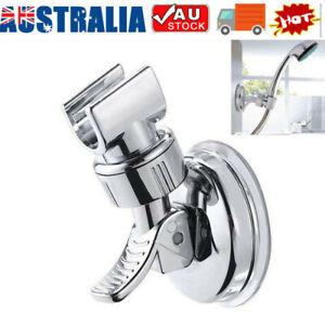 Hot Suction Shower Head Handset Holder Bathroom Wall Mount Adjustable Bracket AU