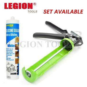 Caulking Gun Professional 230mm Heavy Duty Silicone Sealant glue adhesive kit