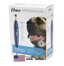 Oster Professional Nail Grinder Dog Pet Animal Variable Speed With Case Grooming