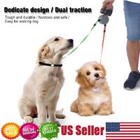 Automatic Retractable Dual Doggie Pet Retractable Leash Harness for Dog Walking