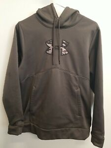 Men's Under Armour Small Camo Hooded Sweatshirt