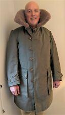 OreBro Military Sheepskin & Canvas Coat. Possibly vintage WW2 . -Thames Hospice