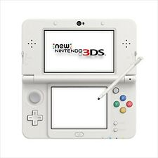 Nintendo 3DS White System Model Console kisekae Japan Import F/S  JAPAN New