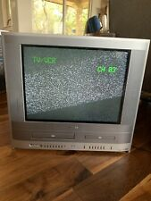 20� Toshiba Vhs/Dvd Vcr Combo Crt Tv Televison Mw20Fp1 Classic Gaming Retro