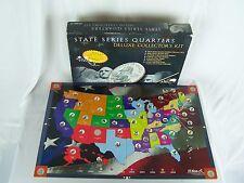H E Harris State Series Quarters Deluxe Collector's Kit Original Box