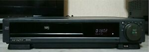 HITACHI VT-M140 VIDEOREGISTRATORE VHS 4 TESTINE CON TELECOMANDO