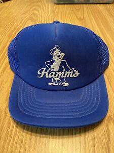 Vintage Original Hamm's Bear 80s Beer Snapback Mesh Truckers Hat Cap