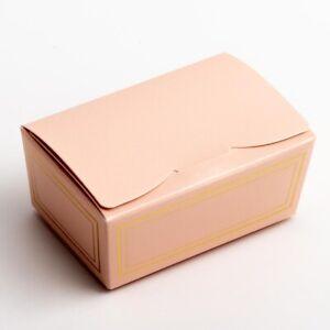 Ballotin Boxes Pack of 10 Chocolate Wedding Favour Truffle Box