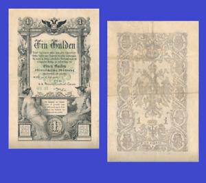 Austria 1 gulden 1866 - Reproduktion