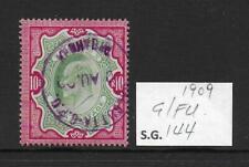 1909 India 10r SG144 Good/Fine Used