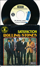"THE ROLLING STONES 45 TOURS 7"" BELGIUM SATISFACTION+"