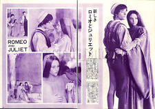 1967, Olivia Hussey , Leonard Whiting Romeo and Juliet Vintage Clippings 1sc10