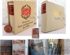 DDR Minibuch DTSB Olympische Spiele Sport MGw. East german miniature Book 1987