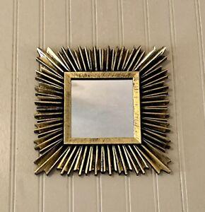 Vintage Gold Framed Accent Mirror