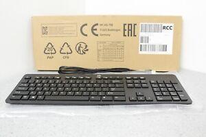 NEW HP Keyboard Business Black Slim Style USB Windows Enhanced P/N 803181-001