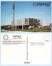 Japan Pavilion EXPO67 Montreal Canada Building 1967 Postcard - Architecture