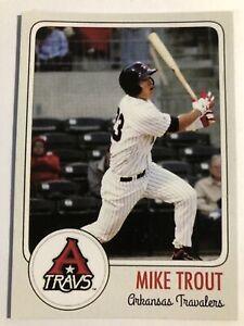 Mike Trout Minor League Rookie Card # 23 Arkansas Travelers 🔥🔥