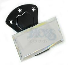 FORD MODEL A INSIDE REAR VIEW MIRROR CLOSED CAR BLACK 1930-31