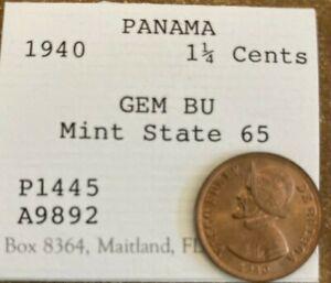 1940 Panama 1¼ Centesimos