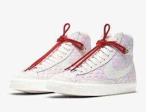 NIKE Blazer Mid 77 DD5402-078 Bust gray / White Women's Shoes
