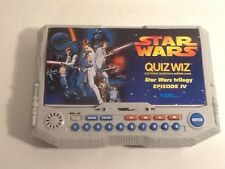 Star Wars Tiger Electronics Quiz Whiz Wiz Trivia Game Episode IV Trilogy