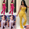Women Jumpsuit Romper Bodycon Playsuit Clubwear Long Trousers Party Pants