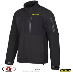 NEW KLIM Inversion jacket - Black Snowmobile Motorcycle Size 3X Gore windstopper