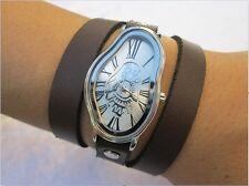 Salvador Dali Schmelzen Uhr Time Warp Fluid wellig Watch Soft Damen Armbanduhr