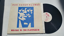 the daily planet welcome to planetarium chico lp 1983 rare original oop scarce!