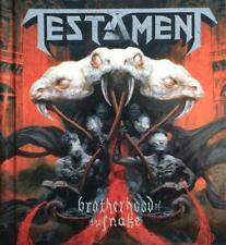 Testament-Brotherhood of the Snake Digibook CD Nouveau neuf dans sa boîte