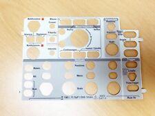 Tektronix 335-2021-00 Italian Label, Front Panel, Language Overlay (DPO/MSO2000)