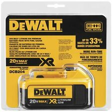DeWALT DCB204 20V Max XR 4 Ah Battery Pack
