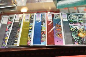 valiant comics deathmate 1-6 complete