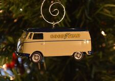 Volkswagen Good Year Panel Van Bus Custom Christmas Ornament VW 1/64 T1 Vanagon