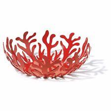 Alessi Mediterraneo 8-1/4 in. Fruit Bowl, Red - ESI01/21 R