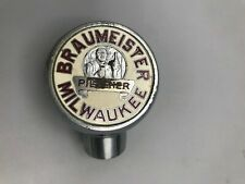 VINTAGE BRAUMEISTER PILSENER BEER - TAP TAPPER KNOB / HANDLE MILWAUKEE WI