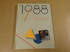 BOEK ARTIS-HISTORIA / JAARBOEK 1988