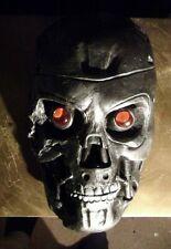 Battle Damaged Life Sized Terminator Head / Wall Hanger