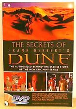 2000 Secrets of Dune Mini-Series Softcover Book w DVD-160 Pgs-UNREAD-FREE S&H