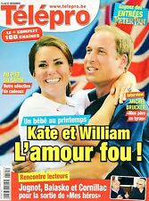 french magazine Télépro N°3067 kate middleton et william 2012