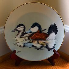 "Federal Duck Stamp Collector Plate ""Ruddy Ducks"" W.S. George by John Wilson"