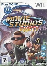 MOVIE STUDIOS PARTY for Nintendo Wii - with box & manual - PAL